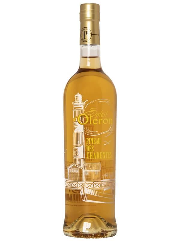 Pineau blanc sérigraphie des Charentes - Soleil d'Oléron Blanc - Les Vignerons d'Oléron