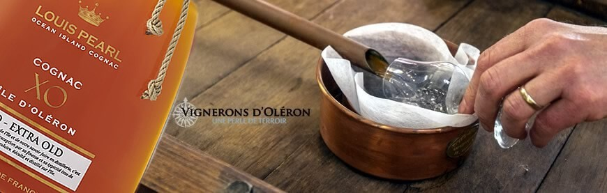 Cognac XO Louis Pearl producteur Vigneron d'Oléron