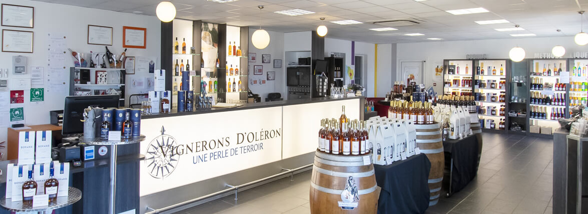 Oléron cognac pineau vin bio